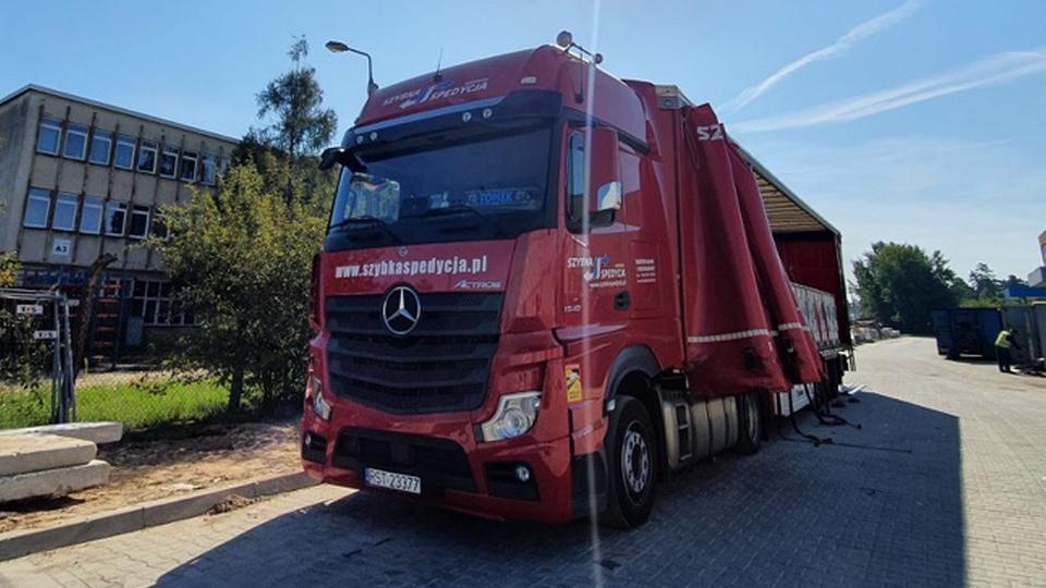 transport ciężarowy anglia polska